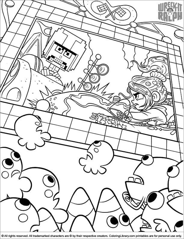 Wreck It Ralph printable page